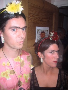 Frida Khalo at the Free da Koala Bear party - Rottingdean. Several years ago...